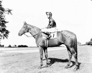 Boucher with Lester Piggott (b632-01a)